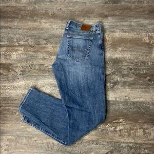 Lucky Brand Sienna Cigarette Jeans.